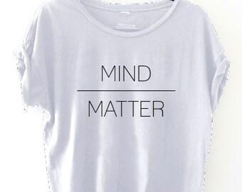 Mind Over Matter Oversized Raw Sleeve Boxy Shirt // Provision Trading Company