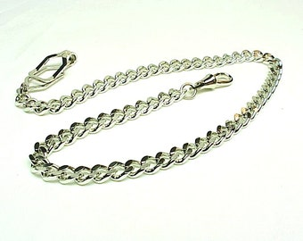 Genuine Old Father Time 622W  The BELT HOOK Pocket Watch Chain