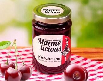 Pure cherry jam jam