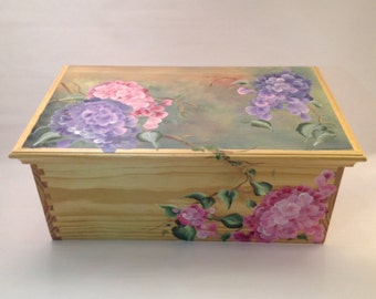 Lilacs for Evelyn -- Heirloom Box
