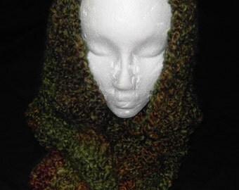 Herb Garden (green) Infinity scarf