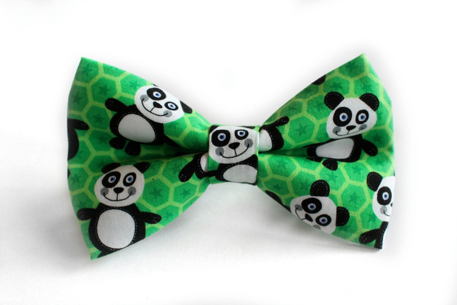 panda bow tie by bugco on etsy
