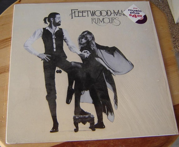 Fleetwood Mac Vintage Record Album Rumours By Omascollectibles