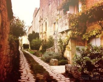Romantic print, landscape photography, Italian countryside, wanderlust, rustic decor, Italy, France, fine art photography, framed print, art