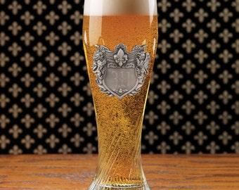 German Pilsner Glass - (g146-1148) - Free Personalization