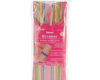 "Clover Getaway Knitting Needle Gift Set (29"" Circular) #3624"