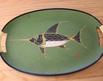 Mid Century Modern Fish Trays