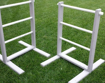 Homemade Hillbilly Golf / Ladder Golf set