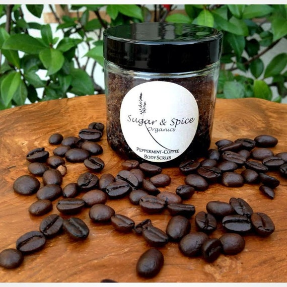 Tantalizing Peppermint-Coffee Body Scrub!