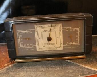 Mid-Century Airguide Bakelite desktop barometer