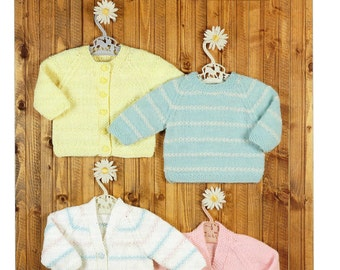 cardigans and sweater dk knitting pattern 99p pdf