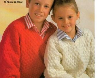 sweater dk knitting pattern 99p pdf