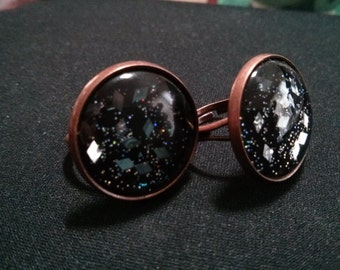 Antique Copper Plated Adjustable Rings
