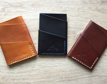 Personalized Leather slim Wallet