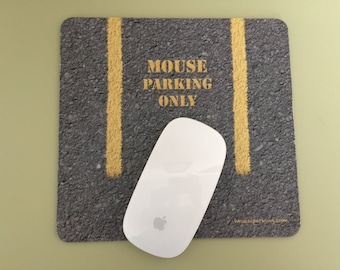 Mouse Parking Only funny Mouse Pad computer mousepad