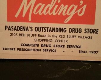 Mading's Pasadena's Drug Store Needles
