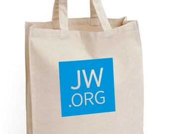 JW.org Canvas Tote Bag *Half-off Sale*