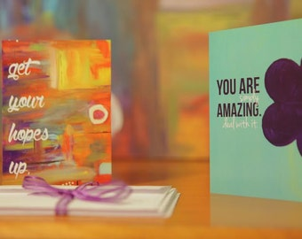 Empowering Original Art Greeting Cards Variety Pack