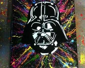 Darth Vader Canvas 8x10