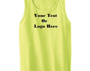 Custom Personalized Design Your Own Tank Top