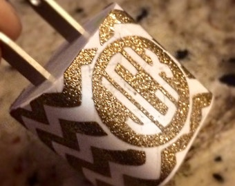 Monogram Charger Cover