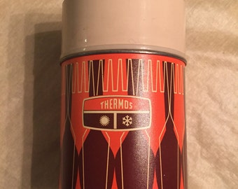 Nice Vintage 1971 King Seeley Division Brand Thermos