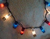 Patriots- Patriotic Shotgun Shell Party Lights- Set of 100 lights!!! (23 feet total).