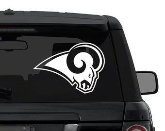 St Louis Rams decal sticker for car, truck, suv, laptop in ANY COLOR die cut vinyl