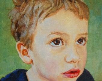 EXAMPLE ONLY. Behr, 8x10 Custom Original Oil Portrait