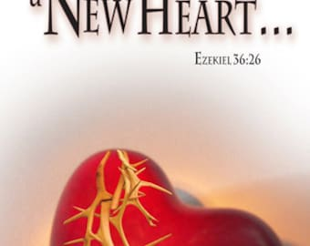 A New Heart / Church or Personal Banners for Your Home or Office (G608-1)