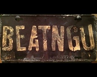 Jeepers Creepers BEATNGU Vanity License Plate