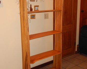 Oak Wood Bookshelf