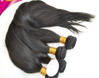 Vedar Beauty 2 bundles brazilian remy virgin hair straight hair weave 100g/piece