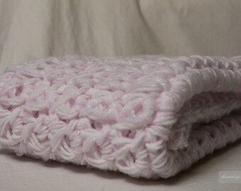 Crocheted Baby Snuggle Blanket