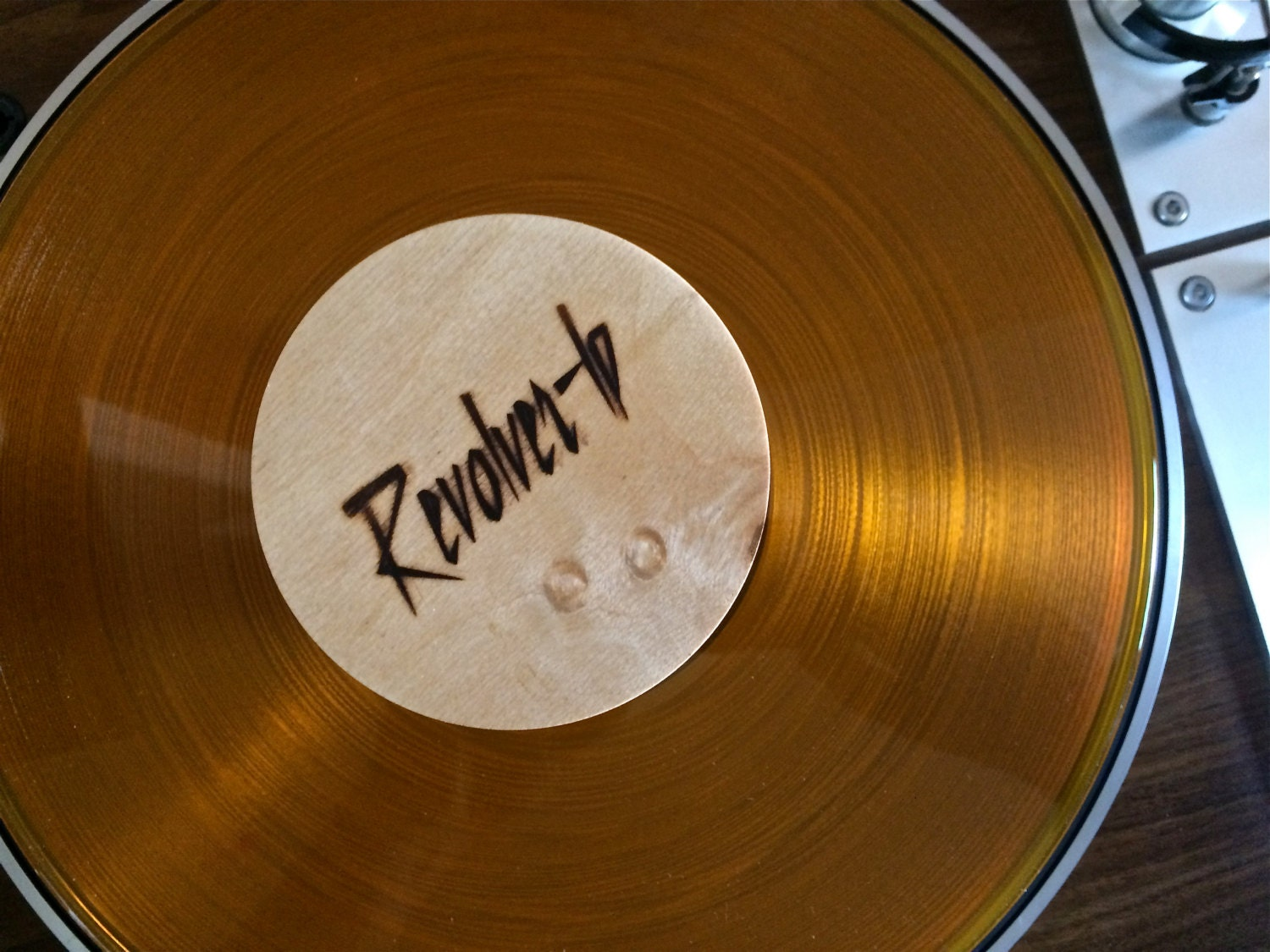 Vinyl Record Weight Hand Crafted Wood Cabinet Makers By