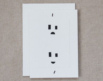 You were electric! (electric socket)