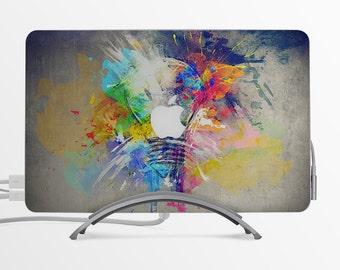 Beautiful mind MacBook Decal Custom Creative Sticker Apple MacBook Decal Gift with Apple logo