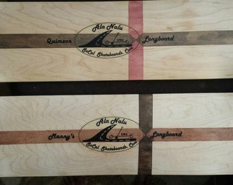 Personalize your Ala Nalu Longboard -- Custom Add Your Name or a Personal Note