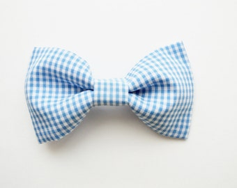 Blue Gingham Boy Bow Ties, Gingham Boy Bow Tie, Easter Bow Ties, Baby Boy Bow Ties, Bow Ties, Spring Bow Ties