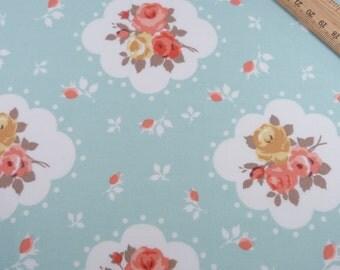 Floral Print Cotton Fabric - 100% Cotton, Fat Quarter