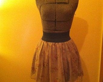 Handmade Floral Skirt