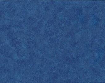 Blue Makower Spraytime Cotton Fabric