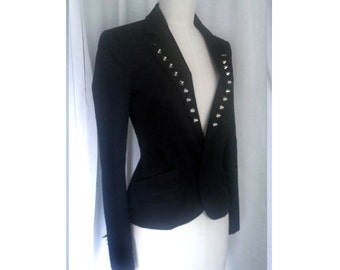 Studded blazer jacket