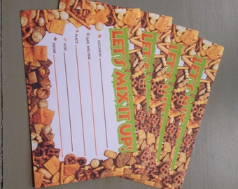 Vintage Party Invitations from Phar More store, Chex Mix
