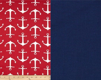 Zippered Water Resistant Baby Carrier Bag, Matches Tula Anchors (Red)