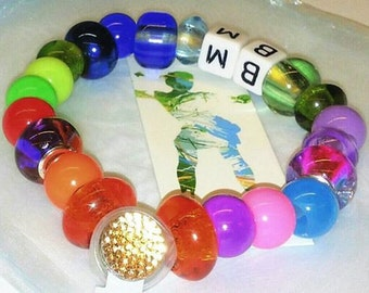 Battery operated LED BM festival LED bracelet