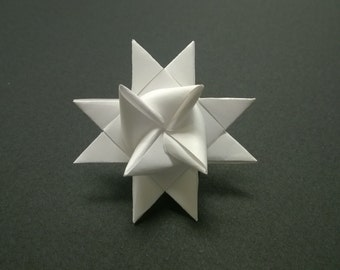 SMALL Moravian Paper Star German Frobelsterne