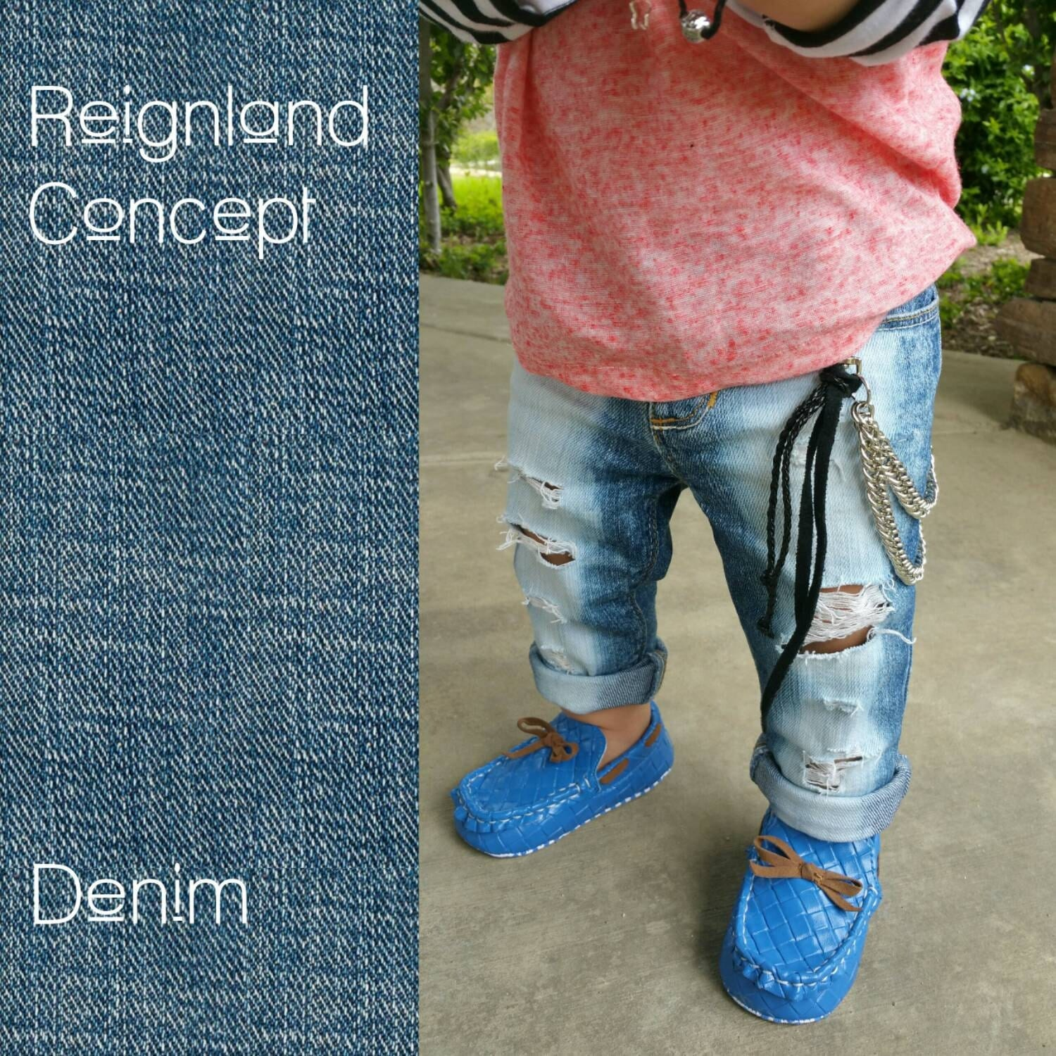 Baby Distressed Jeans Boys Jeans Girls Skinny Jeans Kids