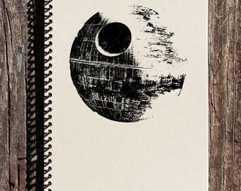 Star Wars Inspired Notebook - Death Star Notebook - Star Wars Inspired Journal - Darth Vader