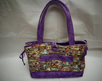 Bow Tucks purse